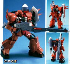 ZGMF-1000/A1 Gunner Zaku Warrior [Lunamaria Hawke custom] - 1/100 - 2005