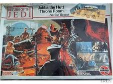 Jabba the Hutt Throne Room - Airfix