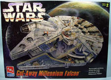 Cut-away Millenium Falcon - AMT/Ertl
