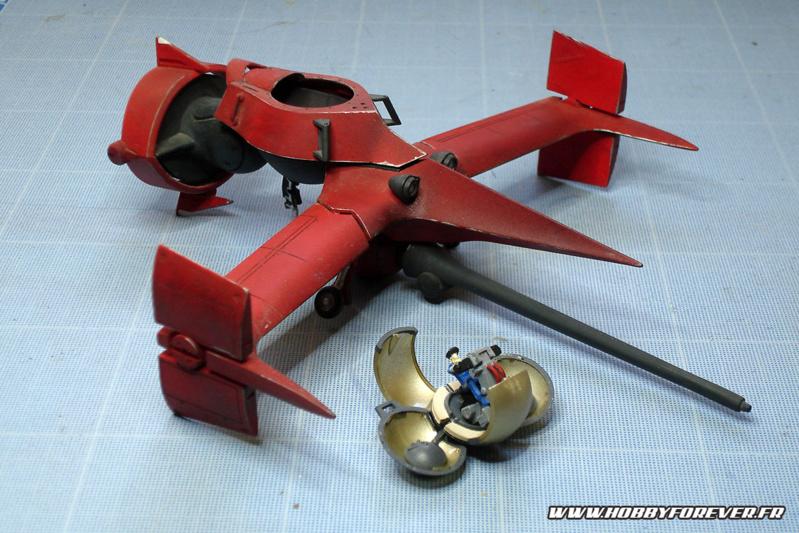 """Mon Sword Fish II """"d'époque"""", ma première maquette peinte à l'aérographe il y a 15 ans déjà ^^"""