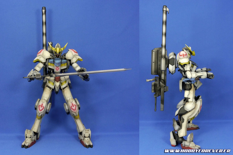Finished Work : Gundam Barbatos 1/100