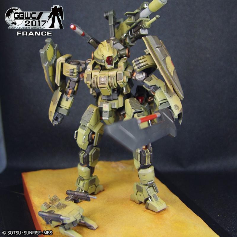 Custom Armored Panther Geirail par Eric IEU / Kurochan