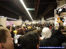 Difficile de naviguer dans les allées du Paris Manga aux heures de pointe !