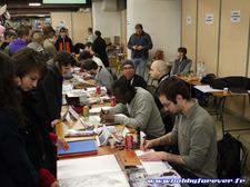 De nombreux dessinateurs proposaient illustrations et dédicaces dans l'espace SF/Comics