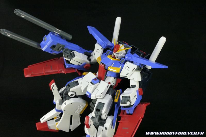 Review - Master Grade  ZZ Gundam ver.Ka 1/100