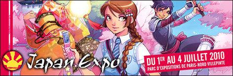 Japan Expo 11e impact - 1er au 4 juillet 2010 - Paris Nord Villepinte