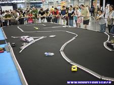 Le circuit de Mini-Z réalisé par le Racing Z 91