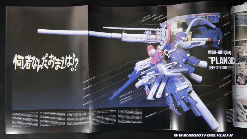 Le scratch build du Deep Striker apparu dans Gundam Sentinel en 1988