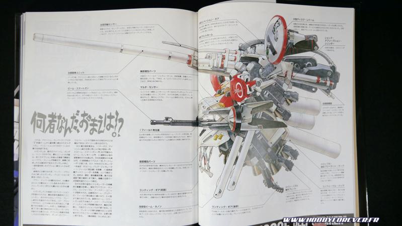 L'illustration originale de Katoki Hajime, également dans l'artbook Gundam Sentinel