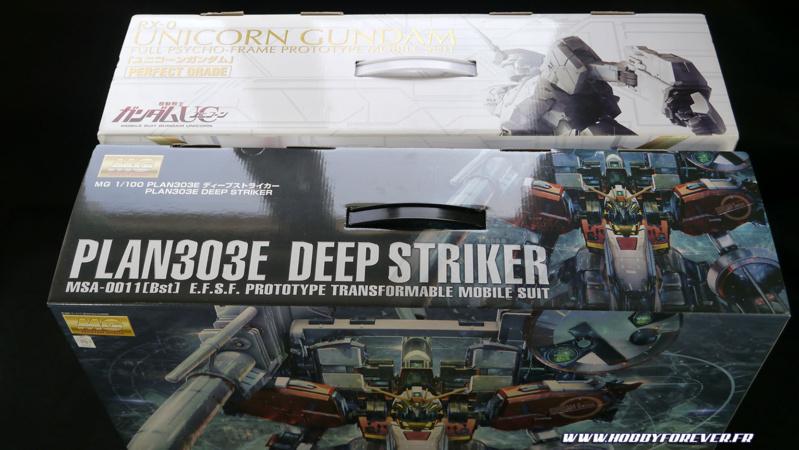 Pour vous faire une idée, la boite fait la taille de celle du PG Unicorn Gundam !