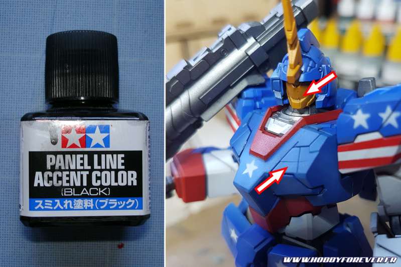 Puisqu'on vous dit que les gunpla n'aiment aps le Panel Line Accent Color !