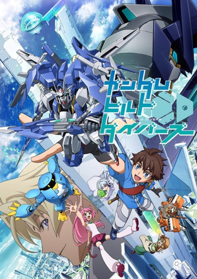 L'affiche officielle de Gundam Build Diver