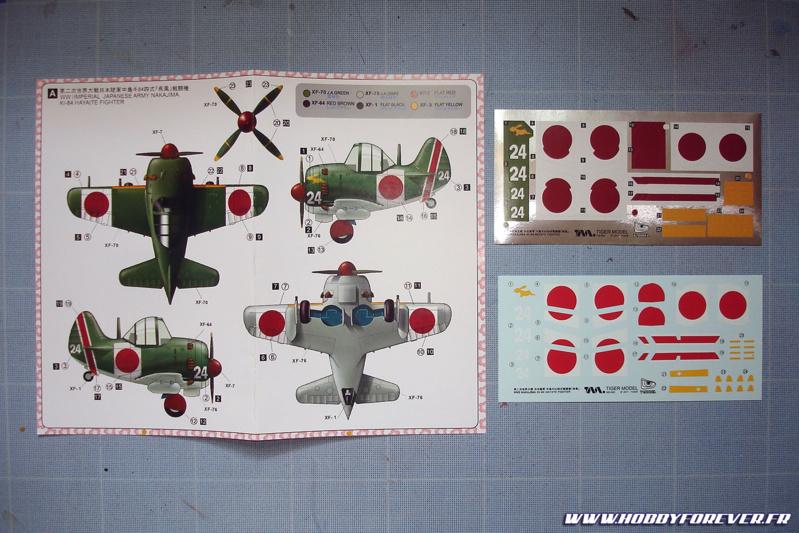 Le schéma de couleur de cette version, avec ses stickers et décals à l'eau au choix