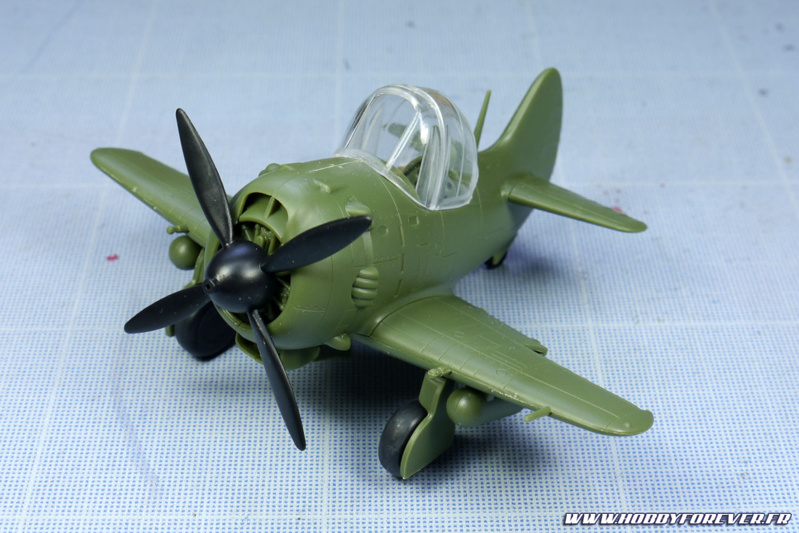Ce Ki-84 a  un design super deformed très réussi