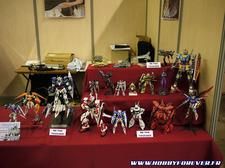 les maquettes en exposition