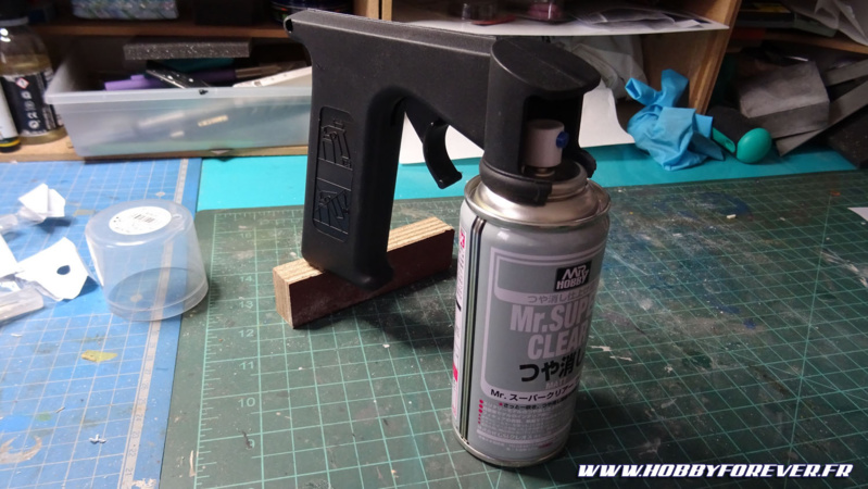 Review - Poignée pistolet à peinture pour bombes de peinture