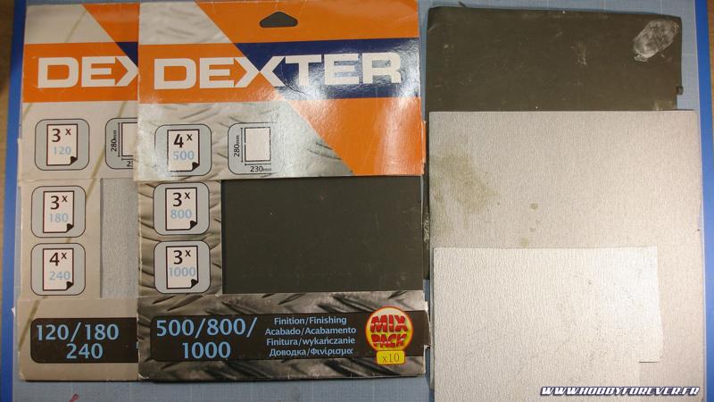 Le papier abrasif de bricolage est plus économique mais moins fin