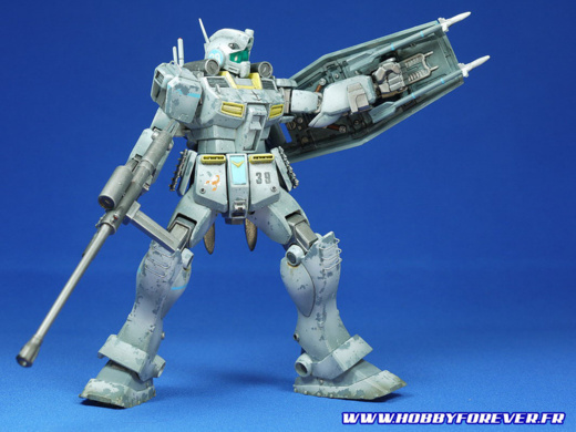 Mon RGM-79D GM Cold District, un HGUC customisé