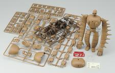 Les grappes composant le Robot Soldier