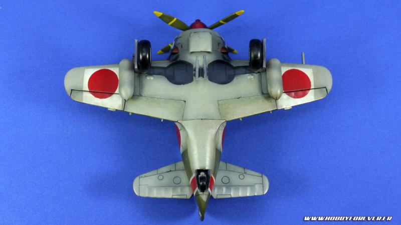 Finished work - Ki-84 Nakajima Cute Model w/ Cat Pilot