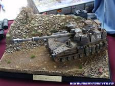 Les dioramas militaires sont toujours très intéressant dans ce genre de salon !