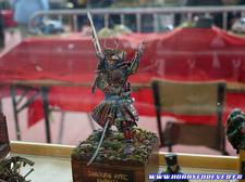 Des figurinistes très talentueux étaient au rendez-vous, comme ici avec ce superbe samourai
