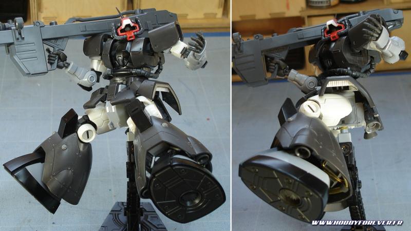 WIP - HG YMS-08B Dom Test Type - Détailler un Gunpla, 2e partie