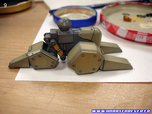 AS-5E3 Leynos [player type] - WIP 4ème partie : la patine
