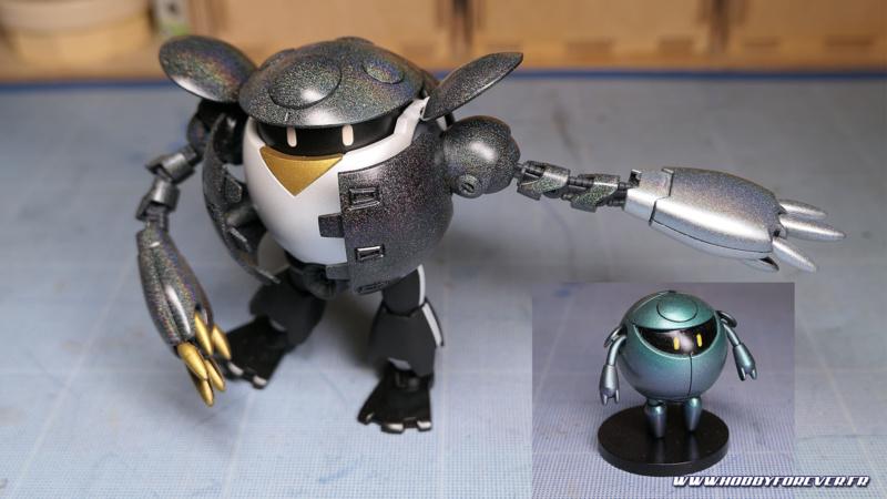 Momokapool, alias MomoJackson, et le Minikapool, avec les peintures à effet Stardust Pro