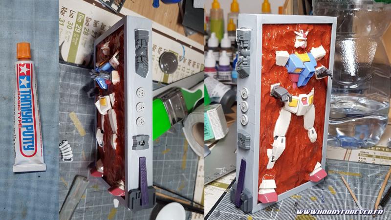 Correction des défauts et ajout de détails de la boite à rabiots.