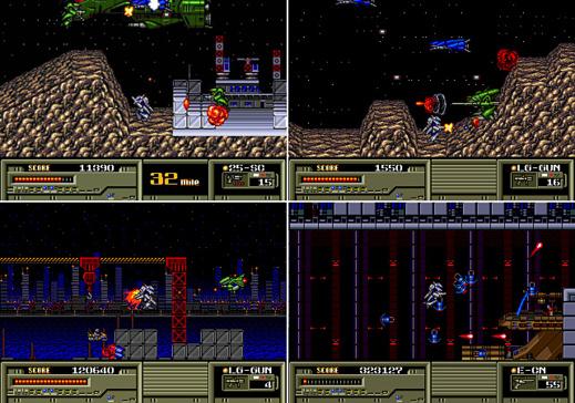 Captures d'écran d'Assault Suits Leynos
