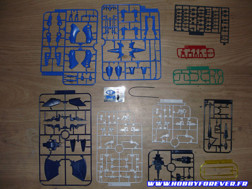 HGUC RX-139 Hambrabi - Out of Box