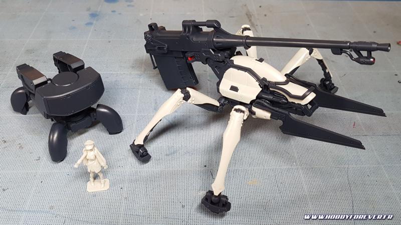HG Juggernaut Shin use 1/48 de Bandai