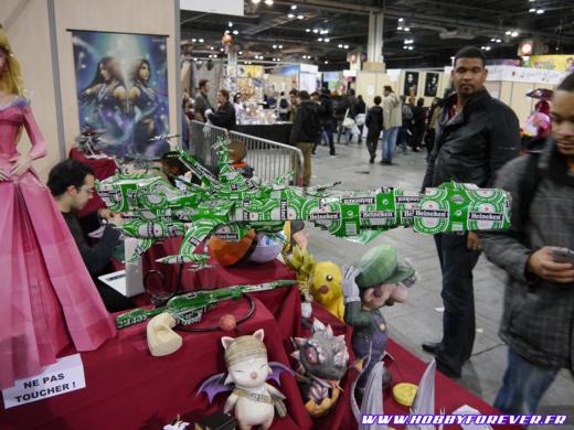 La célèbre mascotte de l'ANIGetter : l'Arcadia en canettes