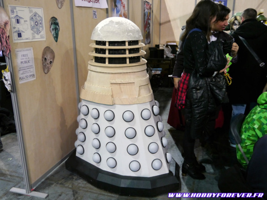 L'incroyable Dalek d'Isamu !