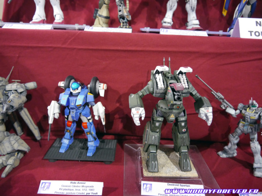 Ride Armor et Destroid Spartan (Youli)