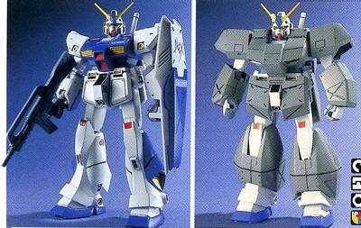 RX-78NT-1 Gundam NT-1 - 1/144 - 1989