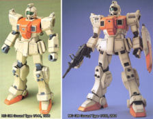 HG et MG GM Ground Type