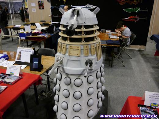 Le Dalek d'Isamu eu un franc succés