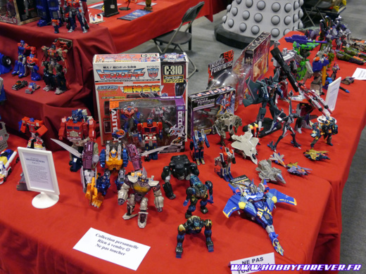 L'exposition Transformers