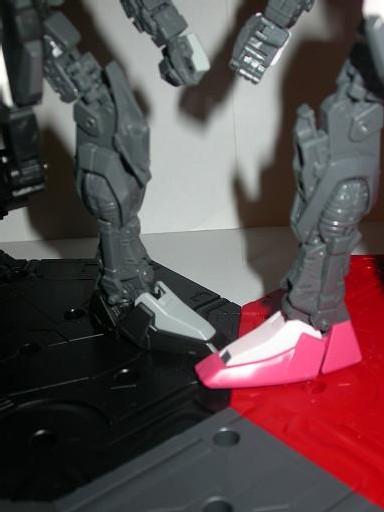 Comparaison des jambes