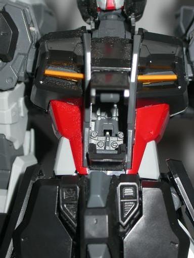 Le cockpit est représenté