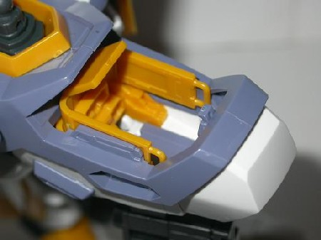 Le cockpit détaillé