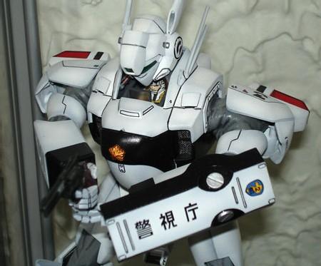 MG Ingram 2 -  panel lines réalisées au feutre Sakura