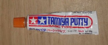 Tamiya putty basic
