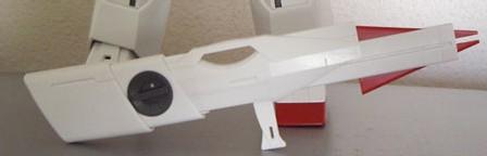 Fusil laser avec crosse rétractable