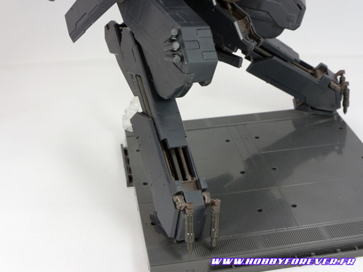 Metal Gear REX Black Ver. 1/100 - Review
