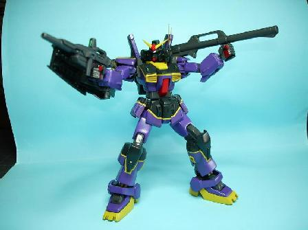 Gundam MkII ver.TTT monté aprés réalisation des panels lines