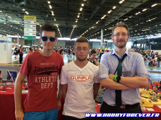 Steel Giants, Guillaume, un fan de Gunpla, et Zenkuro, votre serviteur ^^