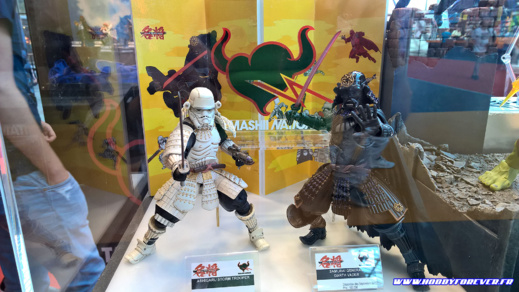 Storm Trooper et Darth Vader Samourai chez Tamashii Nation